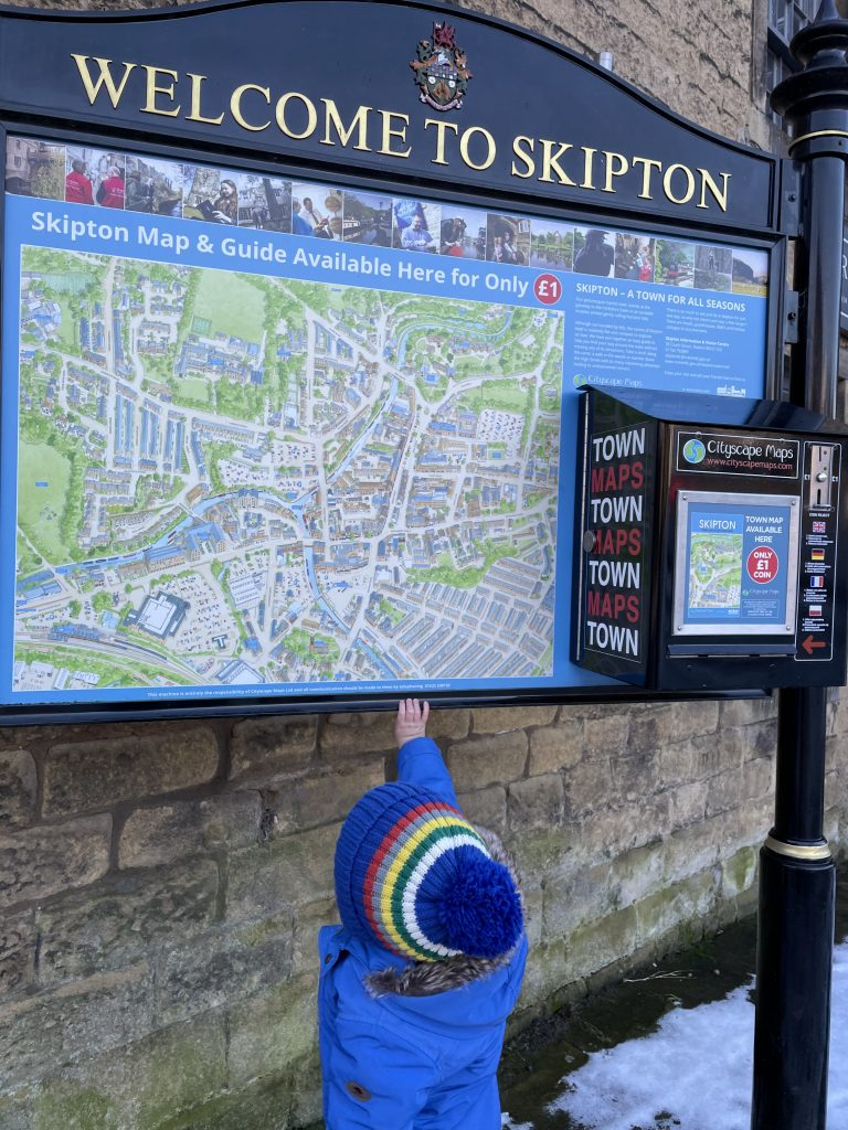 Skipton town map