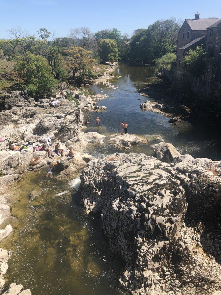 Linton Falls in summer