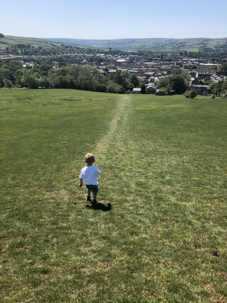 view out over skipton