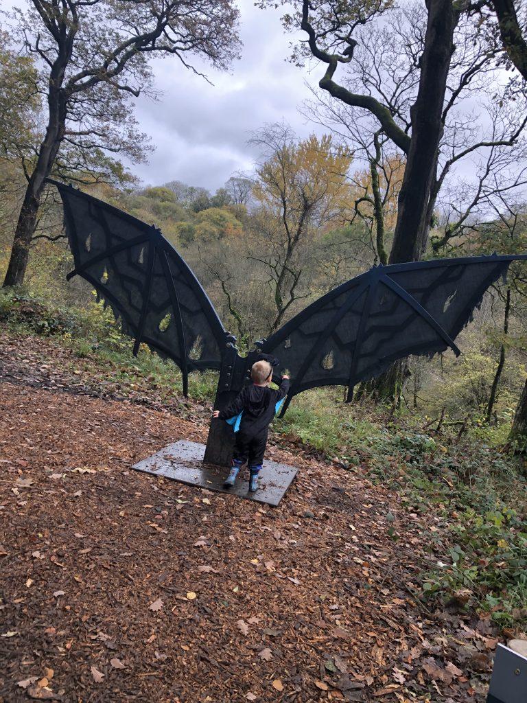 halloween trail at strid wood