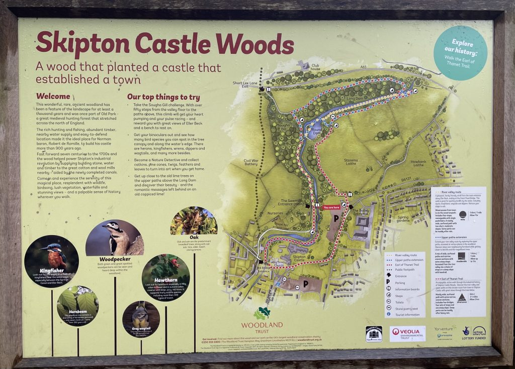 skipton woods map