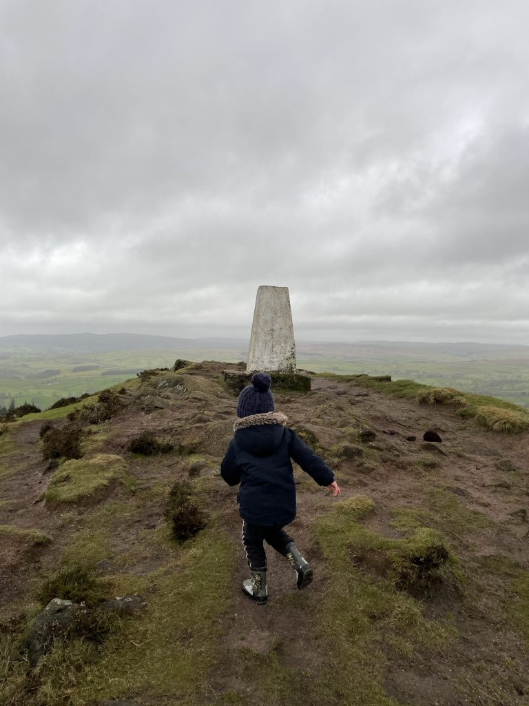 bagging that trig point
