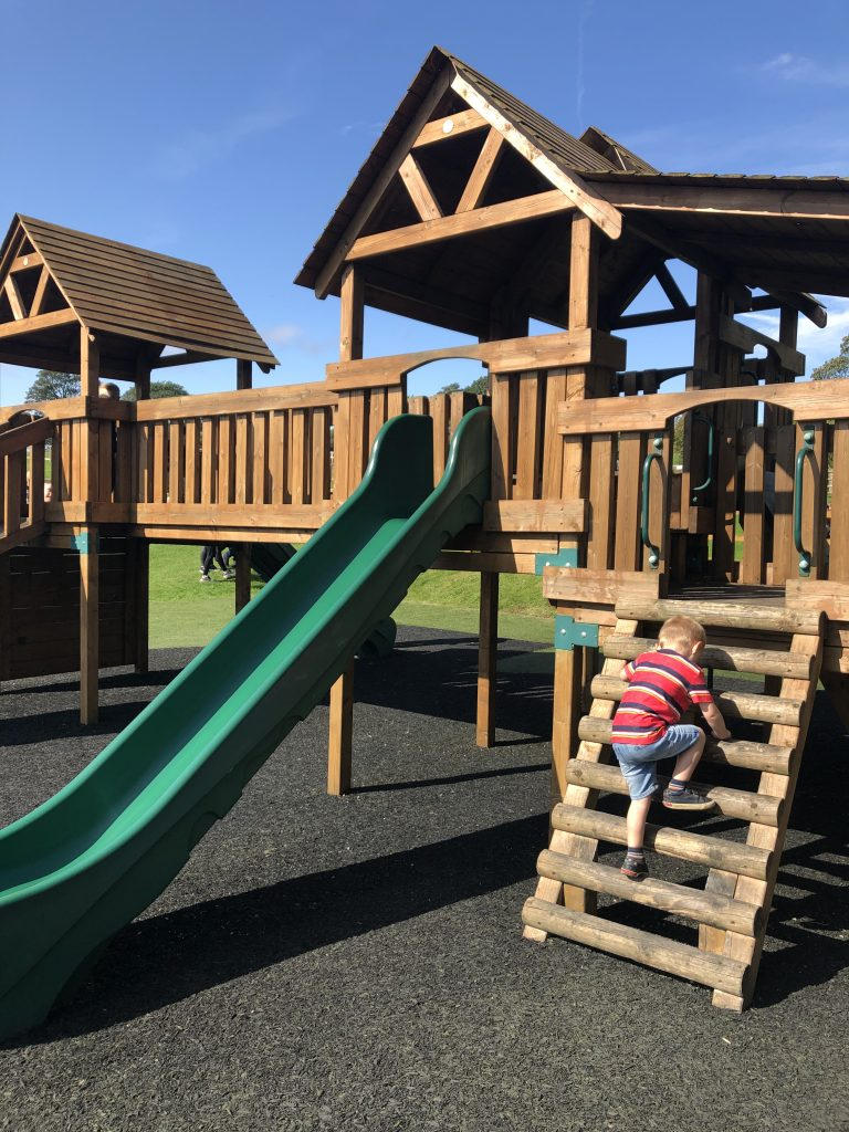 outdoor play at Hesketh