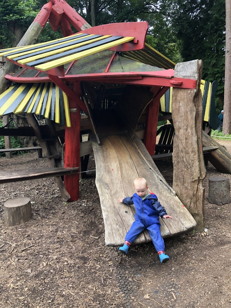 playground at Thorp Perrow