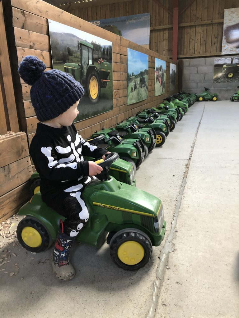 indoor tractors at Hesketh