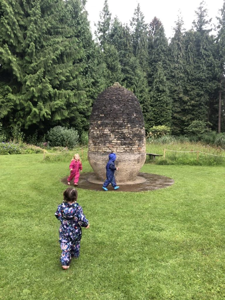 sculptures at Thorp Perrow