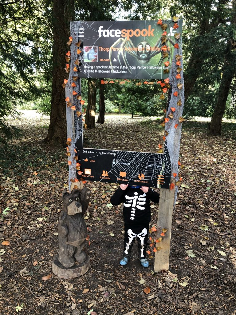 Spooky Halloween Trial at Thorp Perrow
