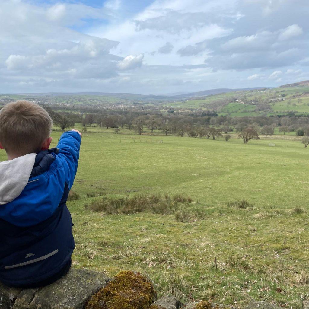 views over Addingham
