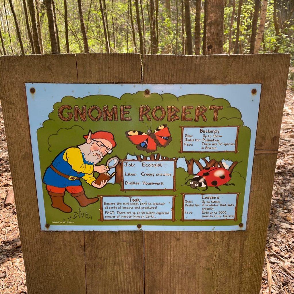 Gnome Robert sign
