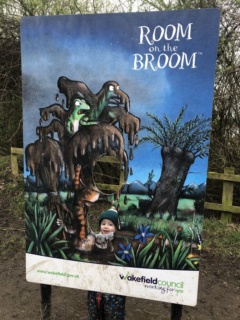 Room on the broom trail