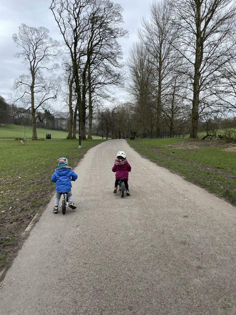 aireville park accessible paths