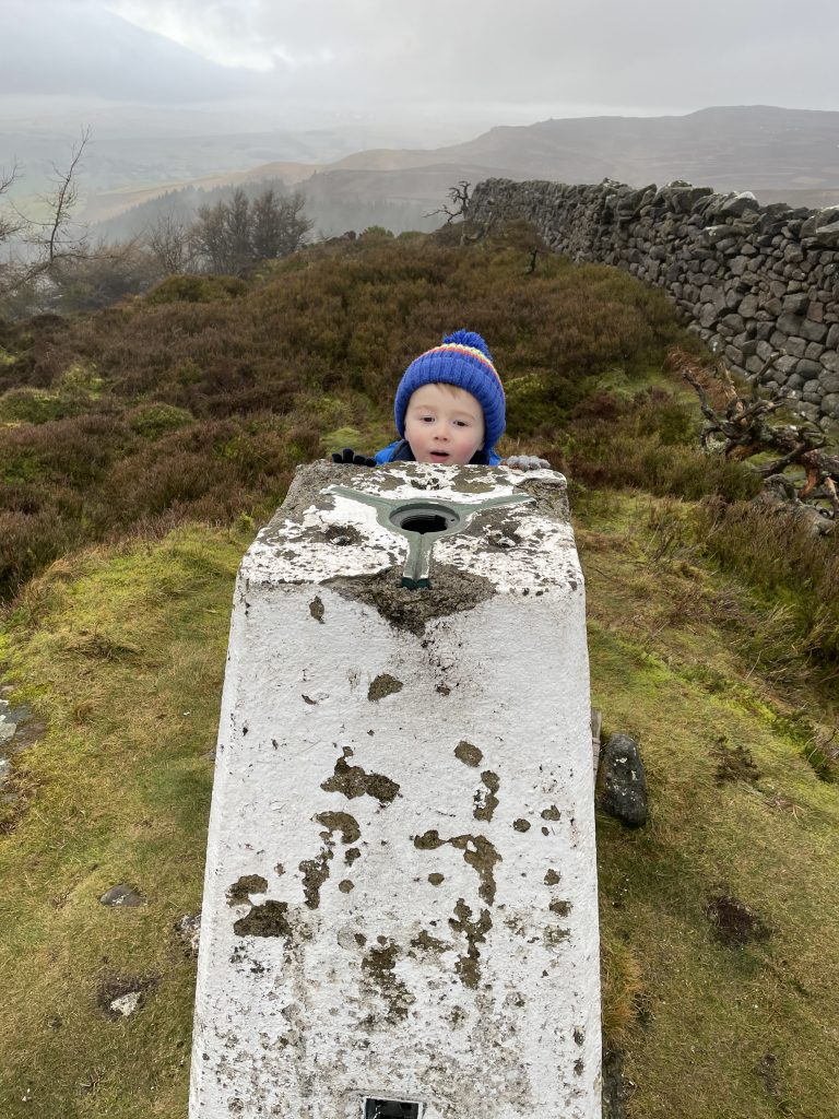 peek a boo - his obsession with trig points