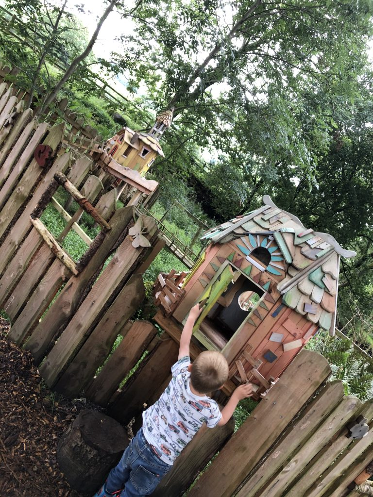 fairy houses at studfold