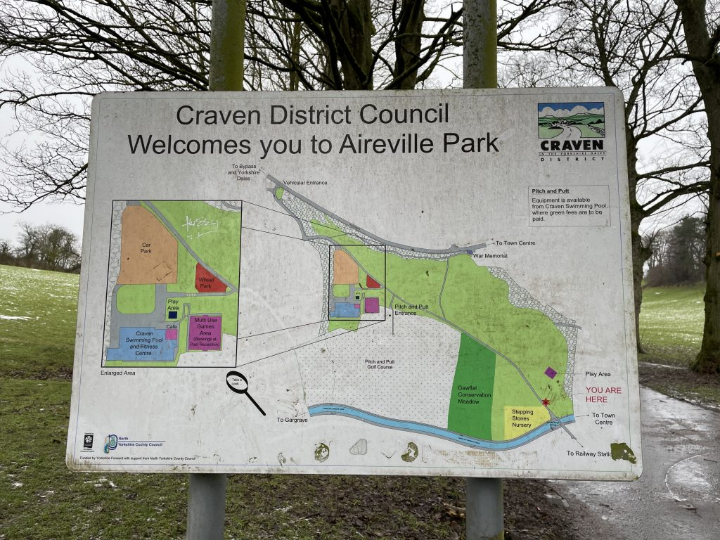 aireville park map