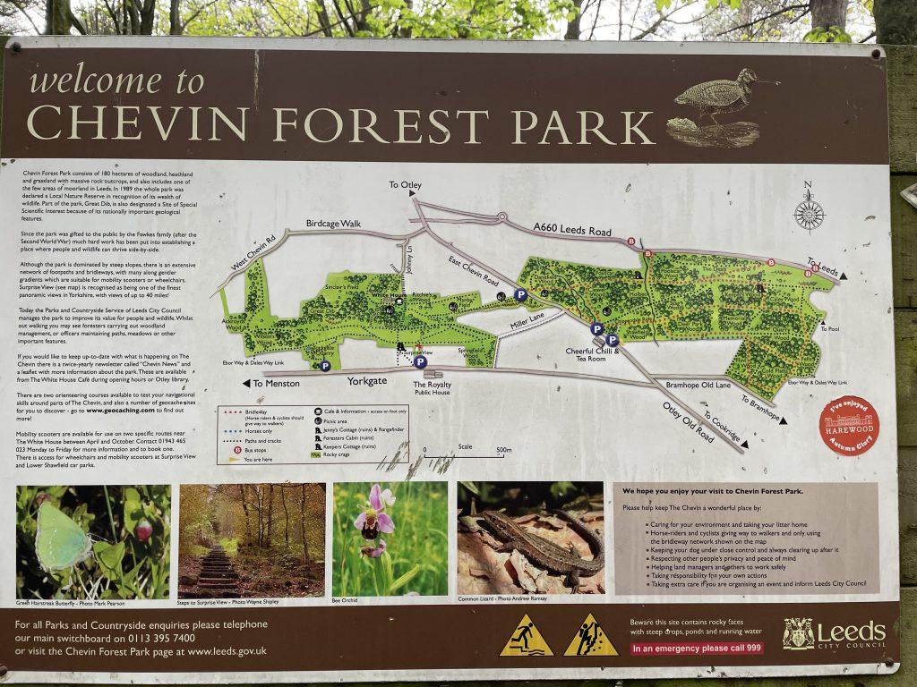Chevin map