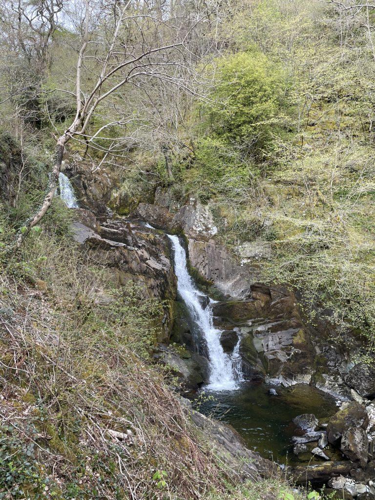 Pecca falls at Ingleton waterfalls