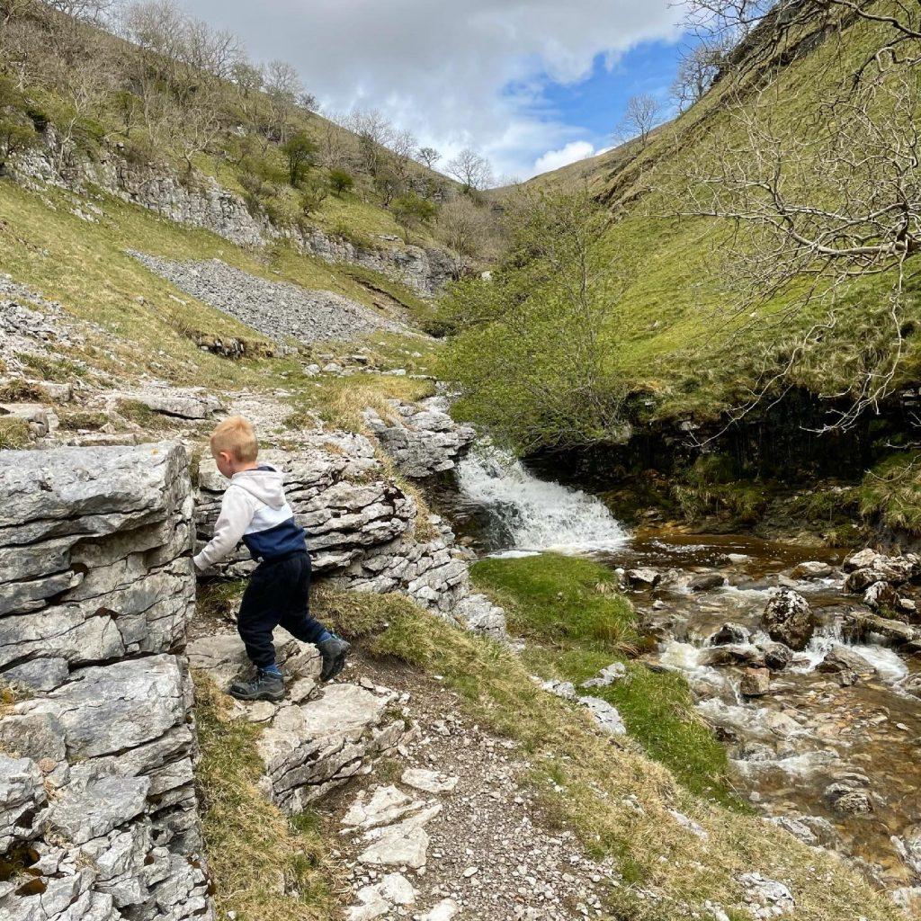 exploring buckden waterfalls