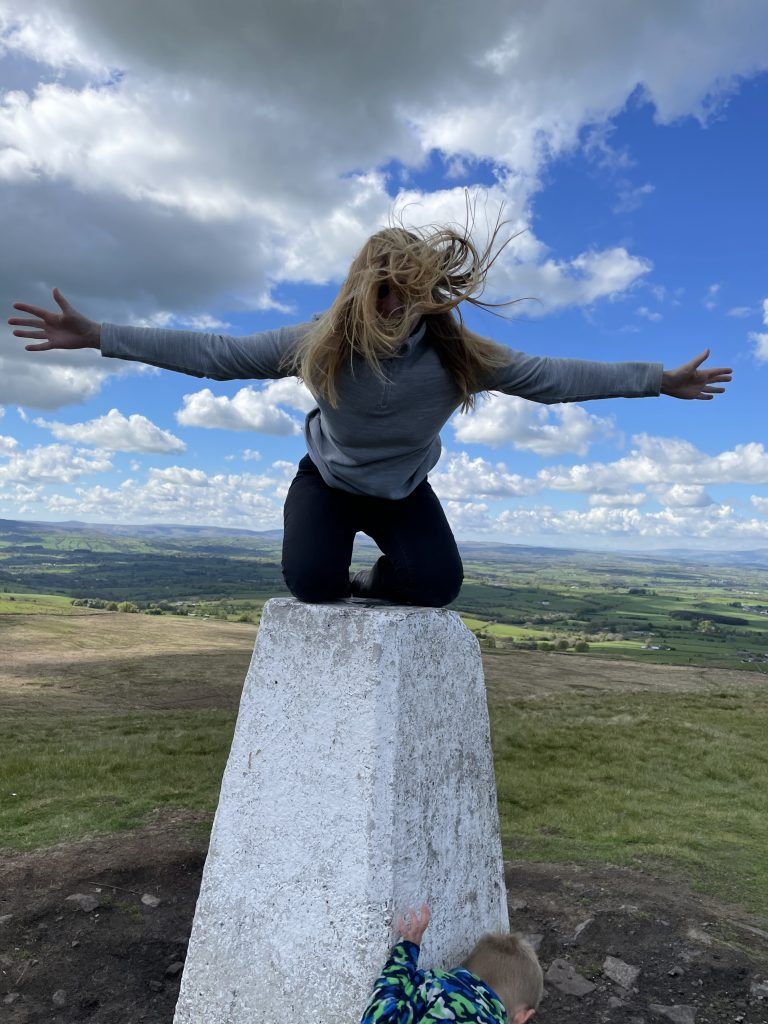 windy up there