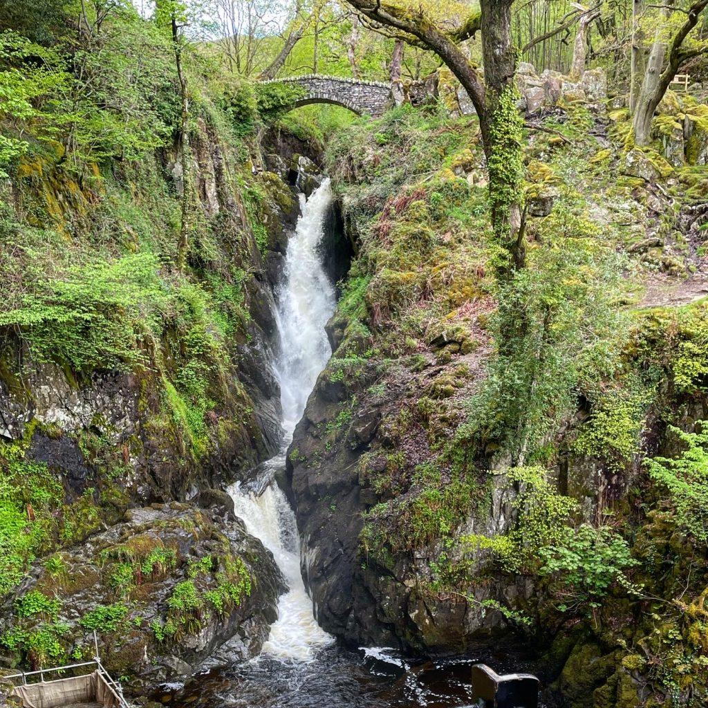 Aira Force waterfall, ullswater