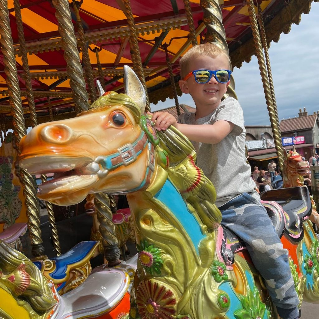 carousel at lightwater valley